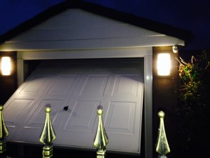 External Lighting on Garage